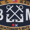 BM Boatswain's Mate Rating Patch | Center Detail