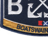 BM Boatswain's Mate Rating Patch | Lower Left Quadrant