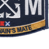 BM Boatswain's Mate Rating Patch | Lower Right Quadrant