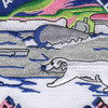 Blue Nose Submarine Arctic Circle Patch | Center Detail