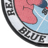 Blue Nose Realm Of The Arctic Circle Patch | Lower Left Quadrant