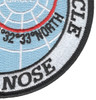 Blue Nose Realm Of The Arctic Circle Patch | Lower Right Quadrant