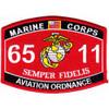 6511 Aviation Ordnance MOS Patch