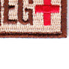 Blood Type A Negative Desert Patch Hook And Loop   Lower Right Quadrant