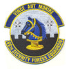 66th Security Forces Squadron Patch