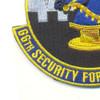 66th Security Forces Squadron Patch   Lower Left Quadrant