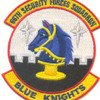 66th Security Forces Squadron Patch - Blue Knights | Center Detail