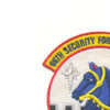 66th Security Forces Squadron Patch - Blue Knights | Upper Left Quadrant