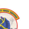 66th Security Forces Squadron Patch - Blue Knights | Upper Right Quadrant