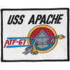 ATF-67 USS Apache Patch