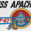 ATF-67 USS Apache Patch   Center Detail
