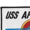 ATF-67 USS Apache Patch   Upper Left Quadrant