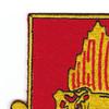 646th Tank Battalion Patch   Upper Left Quadrant