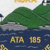 ATA-185 USS Koka Patch | Center Detail