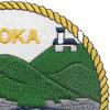ATA-185 USS Koka Patch | Upper Right Quadrant