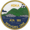 ATA-185 USS Koka Patch