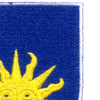 63rd Infantry Regiment Patch | Upper Right Quadrant