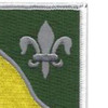 63rd Armored Cavalry Regiment Patch | Upper Right Quadrant
