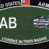 Combat Action Badge Military Occupational Specialty MOS Patch | Center Detail