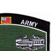 Combat Action Badge Military Occupational Specialty MOS Patch | Upper Right Quadrant