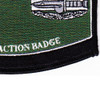Combat Action Badge Military Occupational Specialty MOS Patch | Lower Right Quadrant