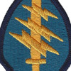 Army Special Forces Group Crest Arrow Patch | Center Detail
