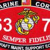 6371 Aircraft Maintenance Support Equipment MOS Patch   Center Detail
