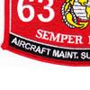 6371 Aircraft Maintenance Support Equipment MOS Patch   Lower Left Quadrant