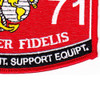6371 Aircraft Maintenance Support Equipment MOS Patch   Lower Right Quadrant