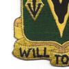 635th Armor Cavalry Regiment Patch   Lower Left Quadrant