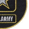 Army Emblem Small Patch | Lower Right Quadrant