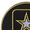 Army Emblem Small Patch | Upper Left Quadrant