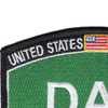Army DAV Disabled American Veteran Army MOS Parch | Upper Right Quadrant