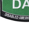 Army DAV Disabled American Veteran Army MOS Parch | Lower Right Quadrant