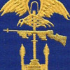 Army Amphibious Forces WWII Patch | Center Detail