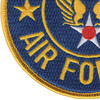 Army Air Force Patch Large | Lower Left Quadrant