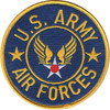 Army Air Force Patch Large