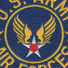 Army Air Force Patch Large | Center Detail