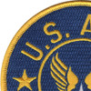 Army Air Force Patch Large | Upper Left Quadrant