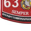 6313 Aircraft Communications Navigation Radar Systems Technician EA-6 Patch   Lower Left Quadrant