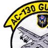 AC-130 Gunship Aerial Gunner AFSOC Patch   Upper Left Quadrant