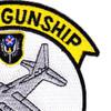 AC-130 Gunship Aerial Gunner AFSOC Patch   Upper Right Quadrant