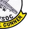 AC-130 Gunship Aerial Gunner AFSOC Patch   Lower Right Quadrant