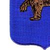 62nd Infantry Regiment Patch | Lower Left Quadrant