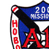 A-1H 200 Missions Over The Trail Patch | Upper Left Quadrant