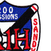 A-1H 200 Missions Over The Trail Patch | Upper Right Quadrant