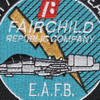 A-10 Night Adverse Weather By Fairchild Republic Company Patch E.A.F.B. | Center Detail