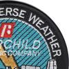 A-10 Night Adverse Weather By Fairchild Republic Company Patch E.A.F.B. | Upper Right Quadrant