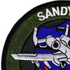 A-10 Call Sign Sandy 1 Patch That Others May Live | Upper Left Quadrant