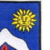 9th Infantry Regiment Patch Vietnam | Upper Right Quadrant